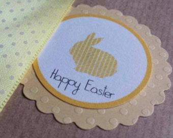 """kraft bags 4 """"happy Easter"""""""