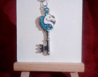 Blue Unicorn Key