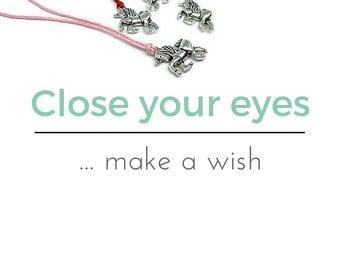 Unicorn Charm Bracelet, Unicorn Wish Bracelet, Unicorn Friendship Bracelet, Unicorn Anklet, Wish Bracelet, Friendship Bracelet, Unicorn