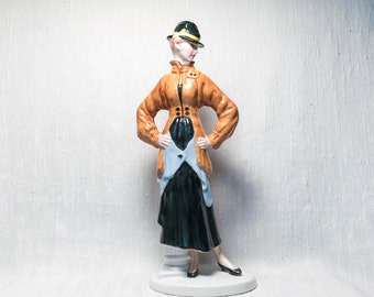 Edwardian Lady Figurine by Cemark International - Hand Painted