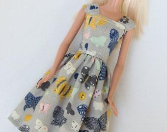 Barbie Clothes, Barbie Dress, Butterflies, kayleesboutique03