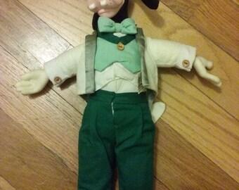 Disney Goofy Stuffed Plush Doll Hollywood Dress Up Vintage Rare