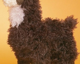 Plush Alpaca - Choco