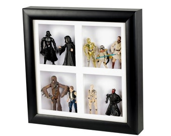 3D deep shadow box display frame 30cms by 30cms by 5cms
