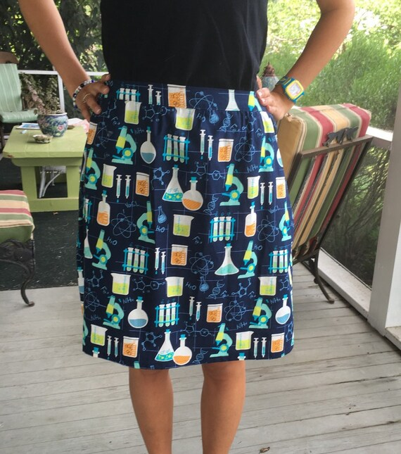 Mad Scientist Skirt from MojoGinny