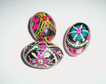 Painted Eggs - Pysanky Eggs - Bulgarian Easter Egg - Folk Art