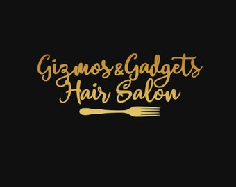 Gizmos and Gadgets Hair Salon Iron On Vinyl Decal Mermaid Matching Mother Daughter Family Ariel Disney Iron On Decal for T Shirt 314