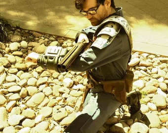 Fallout/Wasteland: Texas License Plate Shoulder Armor