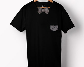The Eye Bowtee - Bow Tie T-Shirt