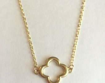 Gold Accent Layering Necklace