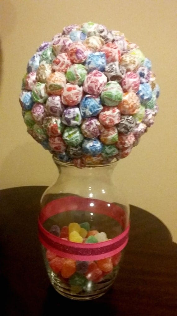 Candy centerpiece multi colored party favor by