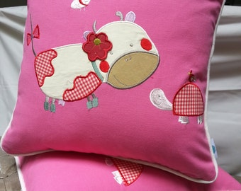 Happy Cattle Cushion Covers