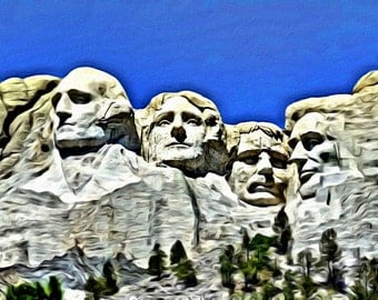 Mount Rushmore - Print or Canvas
