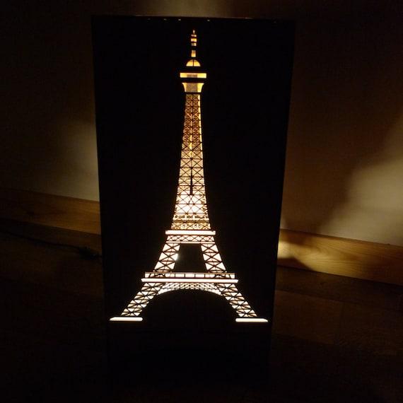items similar to eiffel tower floor lamp on etsy. Black Bedroom Furniture Sets. Home Design Ideas
