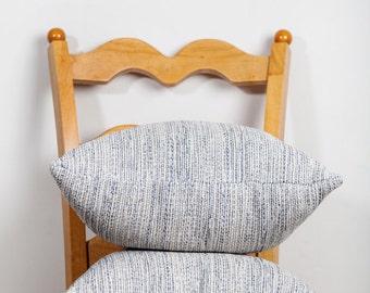 Neutral Pillow, Oatmeal, Pillow, Neutral Home Decor, Navy Upholstery, Accent Pillow, Throw Pillow, Upholstery Pillow, Gray Pillow