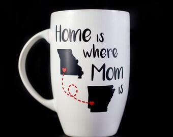 Home is Where Mom is,  15 oz. Latte Mug