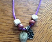 Be Good (Purple)-Inspirational Necklace