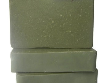 Green Tea Soap - Gift for Tea Lover - Made with Green Tea - Body Soap - Facial Soap - Phthalate Free - Unisex - Vegan Soap - Cold Process