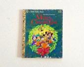 Little Golden Book , Mickeys Christmas Carol , Vintage Disney , Scrooge , Childrens , Kids , Classics