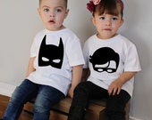 Big Brother & Little Brother/Cousins/Friends Superhero Set Bodysuits and/or Youth T Shirts