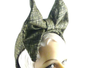 Black Gold Bow Handmade Hat Mother of the Bride Cloch Church Prom Ascot Bridesmaid Fedora Derby Mini Art Deco Custom Made for Each Client