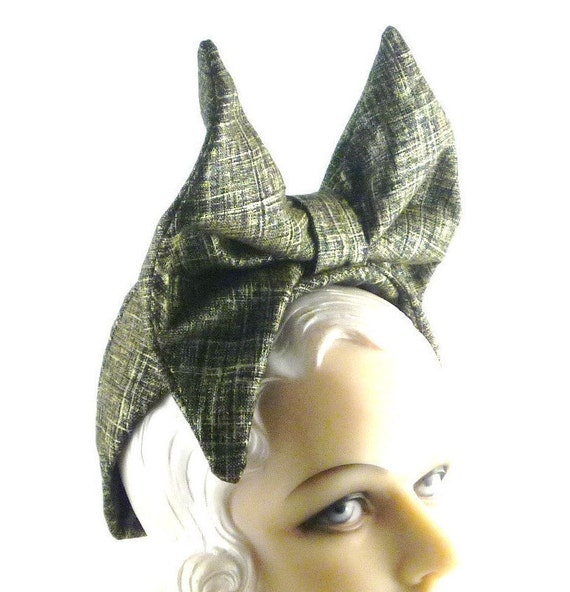 Womens Hats Black Gold Bow Handmade Hat Mother of the Bride Cloch Church Ascot Bride Headpiece Derby Art Deco Custom Made for Each Client