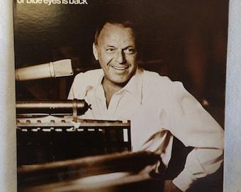 Frank Sinatra Record - Ol' Blue Eyes Is Back - 1973 Vintage Vinyl LP