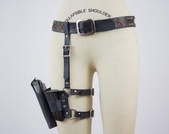 Walking Dead Maggie Greene Holster Belt Replica Leather