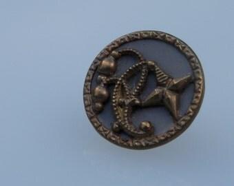 Vintage Metal Button