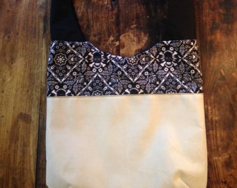 Sailor Sling: Across the body mail sack sling, reclaimed sailcloth bag