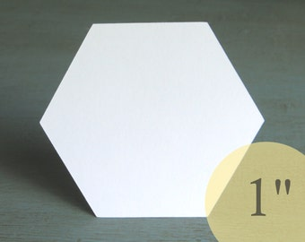 """Hive Paper Pieces - 1"""" HEXAGONS - English Paper Piecing Quilt Hexies - Choose Package Size"""