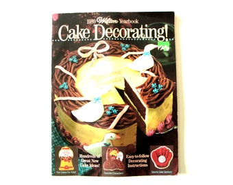 1989 Wilton Cake Decorating! magazine