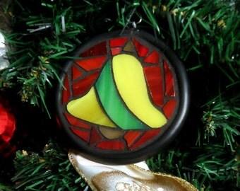 Handmade bell suncatcher / ornament