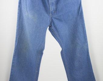 Vintage Levi's Denim | 70s Orange Tab Jeans | 34 / 32