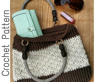 Crochet Pattern | Handbag Crochet Pattern | Crochet Pattern Purse | Easy Crochet Pattern | Mamba Handbag Crochet Pattern | PDF Download