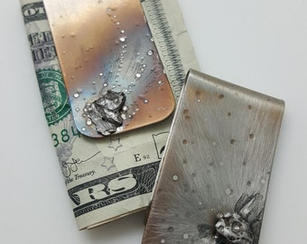 Gifts for guys - METEORITE Money Clip