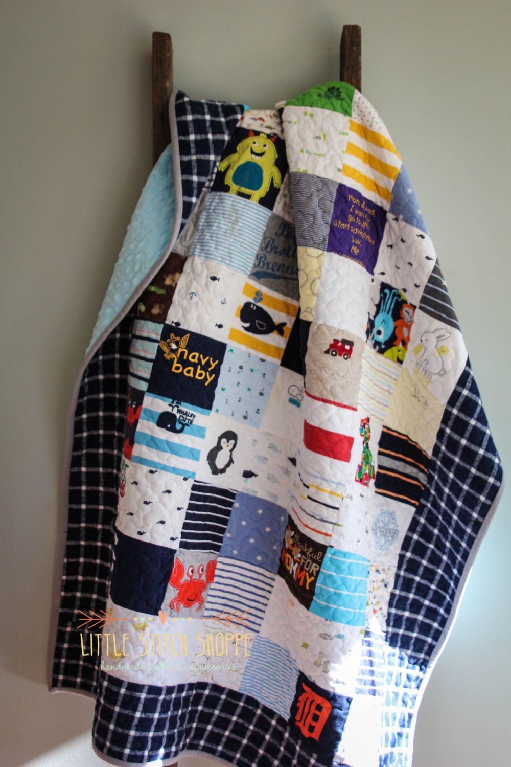 Baby Clothes Quilt Memory Quilt T Shirt Quilt Clothing