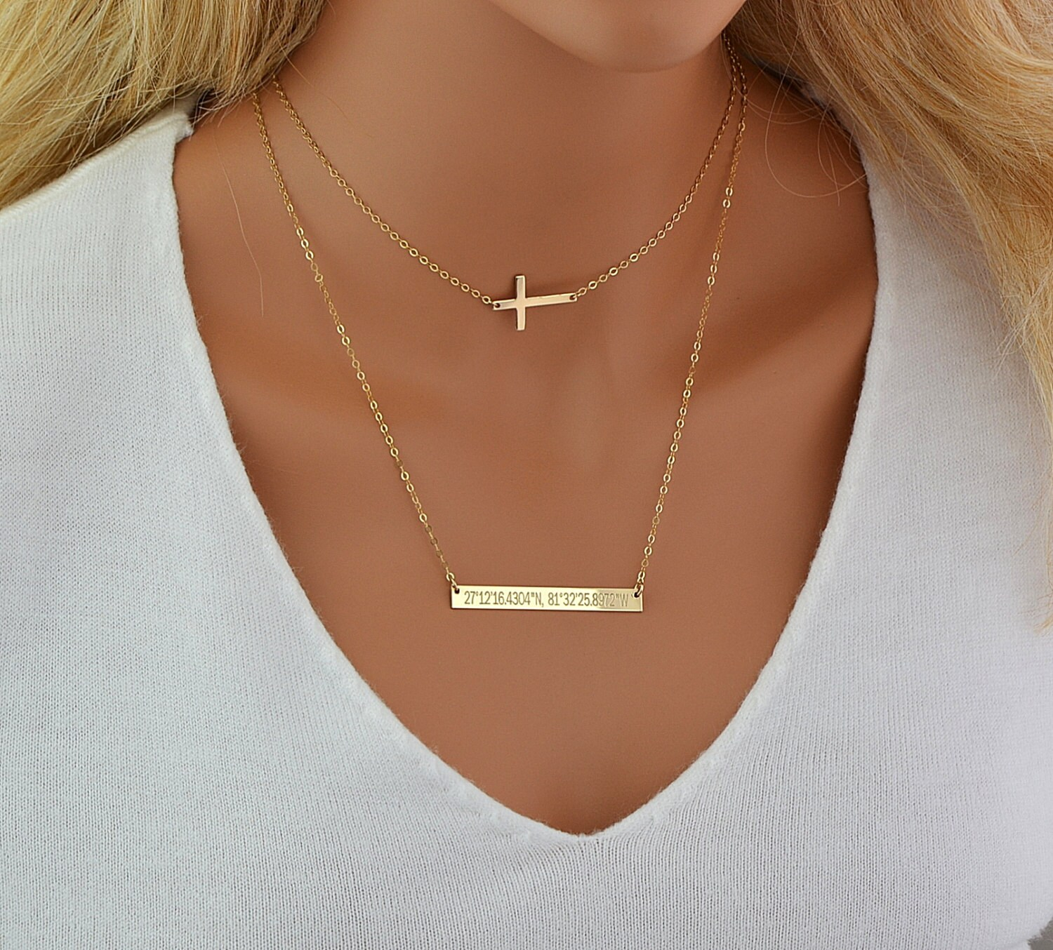choker necklace set layering necklace gold cross necklace. Black Bedroom Furniture Sets. Home Design Ideas
