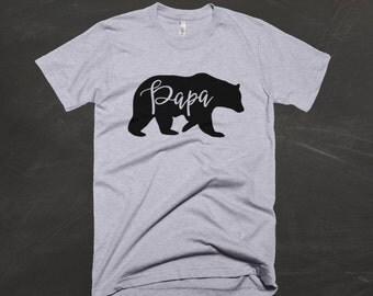 Papa Bear Shirt / Papa Bear / Dad Shirt / Dad Bear T-shirt / New Dad / Father's Day / Father's Day Shirt