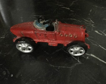 Toy car former cast