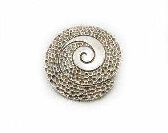 Circle of Life Pendant, Large Pendant, Circle of Life Metal Pendant, Metal Pendant, Jewelry Making, Craft Supplies