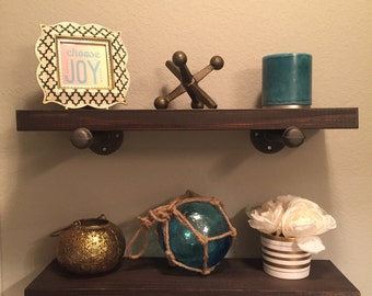 Rustic Shelving - Restoration Hardware Inspired