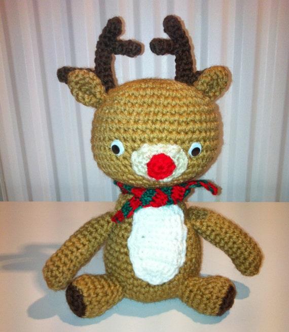 Crochet Reindeer Amigurumi Reindeer Reindeer by ...