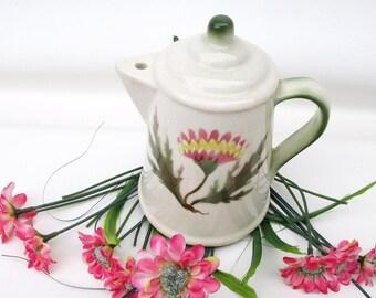 Vintage Teapot Sugar Bowl | Tea Pot Sugar Shaker | Sugar Dispenser |  Shaker Bottle | Kitchen Container