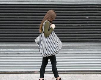 Large Tote Bag. Large Beach Bag. Large Bag. Market Bag. Striped Bag. Beach Bag Tote
