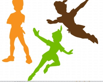 Peter Pan Clip Art / SVG Shapes