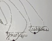 Younique, Lash Boss, Swag, Jewelry, Necklace, Wire Wrapped, Personalized Jewelry, Name. Wire Wrapped Jewelry by IntricateWireDesigns on Etsy