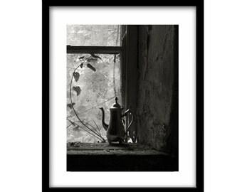 Abandoned, black and white photography, black and white, photography prints, ireland photography, black and white nature photography