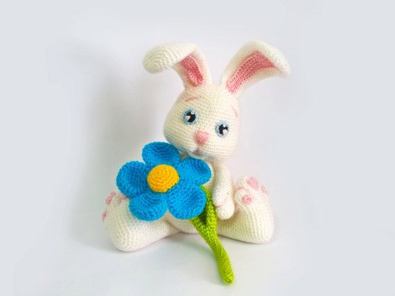 Amigurumi Flower Tutorial : Easter Bunny Crochet Patterns, Amigurumi Animals Crochet ...
