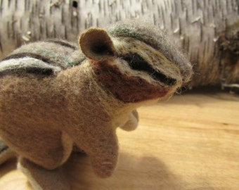 Chipmunk Stuffed Animal/Soft Sculpture